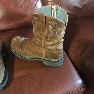 Ariat Shoes - Ariat FatBaby Boots ❤️ Rusett Rebel